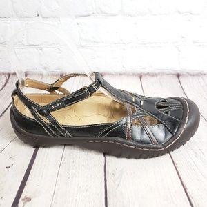 Jeep J41 Black T Strap Womens 7 M Active Shoes